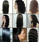 5*5 Silk top Virgin Hair Indian Human Hair Silky Straight Full/Front Lace Wig