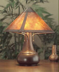 Mission, Arts & Crafts Large Onion MicaTable Lamp #013, Stickley era