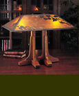Mission, Arts & Crafts Library MicaTable Lamp #040, Stickley era