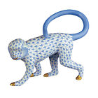 Herend Porcelain - Monkey Walking Fishnet Figurine