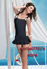 H9128 Sexy Straps Short One-piece Dress Ruffle Supper Mini Clubwear Strings Tied