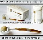 New Micro Needle Roller 540 Titanium Metallic Acne Wrinkle Anticellulite Derma