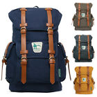 "BRAND NEW CAMPUS BOOKBAGS CASUAL CANVAS BACKPACKS LARGE BAGS (UP TO 15""  LAPTOP)"