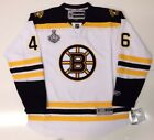 DAVID KREJCI BOSTON BRUINS AWAY 2011 CUP JERSEY RBK