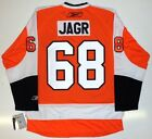 JAROMIR JAGR PHILADELPHIA FLYERS REEBOK PREMIER JERSEY NEW WITH TAGS