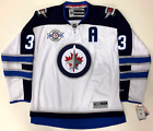 DUSTIN BYFUGLIEN WINNIPEG JETS REEBOK PREMIER AWAY JERSEY INAUGURAL SEASON PATCH