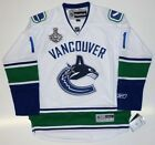 ROBERTO LUONGO VANCOUVER CANUCKS AWAY 2011 STANLEY CUP REEBOK PREMIER JERSEY
