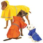 RAIN COATS for DOGS Dog Rain Jackets with Reflective Strips Choose Size & Color