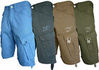 MENS CHINO TWILL COMBAT SUMMER SHORTS BLUE CHARCOAL SAND KHAKI SIZE 28-40