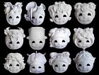 Unpainted 12 Constellations/Zodiac plain/blank version PaperPulp Mask SNA006c120