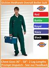 Dickies Redhawk Zip Front Coverall Overall Boiler Suit Workwear Mechanic WD4839