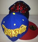 NEW ERA 59Fifty Darkseid DC Comics Hat Cap Apokolips Satin Inner Lining 3D Logo