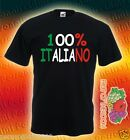 T-SHIRT 100% ITALIANO humor idea regalo