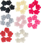 Tiny Daisy resin flat back cabochon flowers 6mm 15 pieces