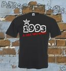 T-SHIRT DATA DI NASCITA 1993 A STAR WAS BORN idea regalo humor divertente
