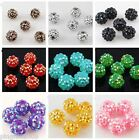 Jewelry Making 20 pcs 10mm Disco Ball Acrylicresin Rhinestones Charm Beads