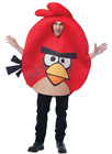 Mens Adult Funny Angry Birds Game App Deluxe Red Bird Costume