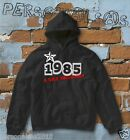 FELPA sweatshirt DATA DI NASCITA 1985 A STAR WAS BORN idea regalo humor