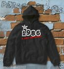 FELPA sweatshirt DATA DI NASCITA 1986 A STAR WAS BORN idea regalo humor