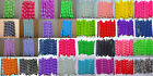"25pc Korker Grosgrain Ribbon Garden 3"" Free Shipping Solid color& Print"