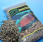 Aquariux premium arowana oscar sinking tropical fish food pro fishfeed pellets