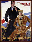 Fashion Germany Ski Winter Sport Clothes German Vintage Poster Repro FREE S/H