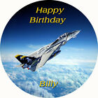Personalised F14 Tomcat Fighter Aircraft Edible Wafer Cake Toppers