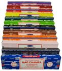15g Satya Nag Champa Incense Sticks - Many Scents - Buy 3 Get 1 Free