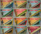 VINTAGE 1981 AIRFIX 1/32 SCALE MODEL PLASTIC SOLDIERS 14 FIGURES PIECES BOXED