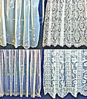 """Net Curtains Available In Several Designs Curtain 36""""-90"""" Drop. Priced Per Metre"""