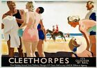 Cleethorpes, Lincolnshire, LNER Railway Travel Poster Print It's Quicker by Rail