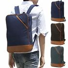 unihood New Mens Rucksack Campus Backpack School Bag Canvas Laptop Bags