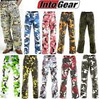 GENUINE DRAGGIN JEANS UNISEX KEVLAR LINED CARGO PANTS IN ALL CAMO DESIGNS
