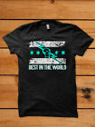 CM PUNK STYLE BEST IN THE WORLD 100% COTTON BLACK T SHIRT