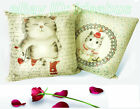 New Adorable Cat Design Handmade decorative Cushion Covers/Pillow Cases YBS979