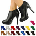 BRAND NEW HIGH HEELS PLATFORMS SHOES BOOTS HEEL PLATFORM SHOE BOOT SIZE 3-8 H20