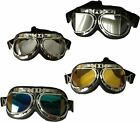 Classic Retro Motorcycle Motorbike vintage pilot Biking best quality goggles