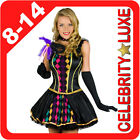 New Mardi Gras Ladies Masquerade Ball Fancy Dress Party Costume Halloween Outfit