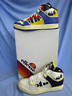 MEN'S LEATHER LACE UP ELLESSE HI TOP TRAINERS ( ASSIST 1)