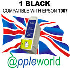 1 BLACK ink compatible with T007 cartridges [not original EPSON]