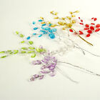 Small Artificial Acrylic Crystal Spray for Card Making, Crafts Cake Decorating