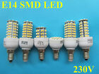 E14 24/48/72/96/120/138 SMD LED Lampe Licht Strahler Birne warmweiss/weiss 230V