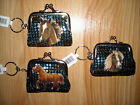 Girls/Tween/Teen HORSE Coin purse Key Chain~Sequined~GREAT HORSE Gift~NWT~EQUINE
