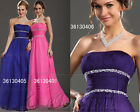 Carlyna eDressit New Noble Strapless Evening Prom Dress Ball Gown UK 8-20