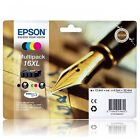 Epson 16XL Original Ink Cartridges (Pen and Crossword) C13T16364010 T1636