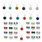 Shamballa Crystal Earring Chain Pendent Disco Ball & Stud Earring Set UK SELLER