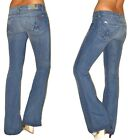 $189 Seven 7 For All Mankind A-Pocket Flare Mid-Rise GUMMY Jeans Heritage 25-29