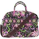 Vera Bradley WEEKENDER in ENGLISH MEADOW FOLKLORIC VIVA LA VERA PLUM PETALS NWT