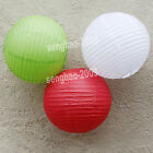 "VALUE- 36Mix (10""12"") White&Green&Red  Paper Lanterns Party Wedding Decoration"
