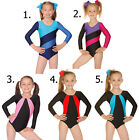 Girls Gymnastics Lycra Leotard. All sizes & Colours! Gym/ Dance Wear Roch Valley